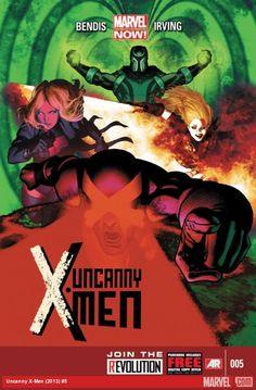 Uncanny X-Men 5   Frazer Irving