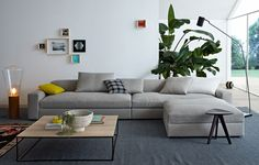 I love this DUNE sofa from POLIFORM