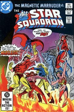 Cover for All-Star Squadron (DC, 1981 series) #16