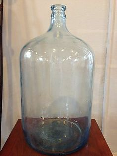 Vintage Blue 5 GAL Bottle JUG | eBay