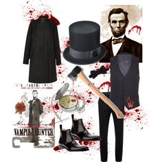 Abraham Lincoln, Vampire Hunter, a somewhat literary Halloween costume!