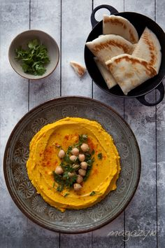 pumpkin hummus Setsetting the table #Thanksgivukkah#pintowin #anthropologie