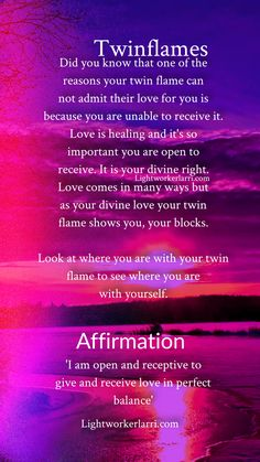 63 Ideas Quotes Love Soulmate The One Twin Flames For 2019 Soulmate Connection, Soul Connection, Twin Flame Love Quotes, Love Quotes For Him, 1111 Twin Flames, Soulmate Signs, Twin Flame Relationship, Relationship Quotes, Affirmations