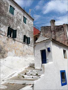 Pelekas Corfu, Greece( lovely old hill village on the West Coast)