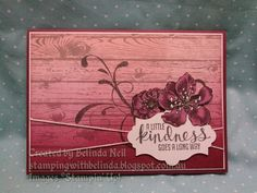 Stampin' Up! Ombre, Hardwood, & Everything Eleanor