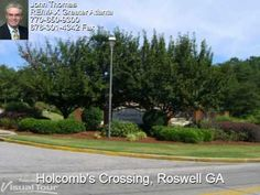 Holcomb's Crossing is located in #Roswell GA near the northwest corner of the Georgia 400 & Holcomb Bridge Road intersections. You'll find a very well maintained community of 2 & 3 bedroom/office town homes.     http://www.homesalesforce.com/holcombscrossing.aspx    Exterior maintenance & landscaping are included in the monthly dues.  The community is fully fenced.
