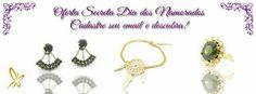 Oferta secreta Dia dos Namorados  Cadastre seu email em nossa newsletter e descubra!  www.cassie.com.br  Semijoias folheadas com garantia. Pague em até 6x sem juros e frete grátis acima de R$ 150,00.  #Cassie #Cassiesemijoias #semijoias #folheadoaouro #acessórios #banhado #folheado #brincos #anéis #pulseiras #colares #erajackets #charms #berloques