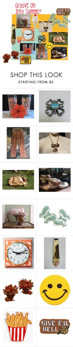 """Groove On Into Summer"" by starshinevintage on Polyvore featuring Hollywood Mirror, Madewell, Rosehound and vintage"
