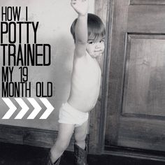 whims of tim: How I Potty Trained My 19 Month Old {Potty Training Tips}