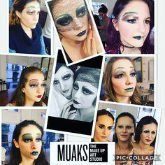 Maquillaje años 20 en nuestros cursos en @studiomuaks