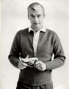 Columbia 734 1950s Men's Knit Sweaters  by cemetarian, via Flickr