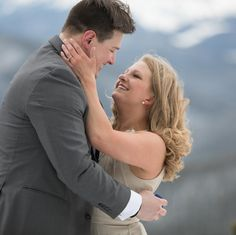 Congrats to these two on their engagement! #engagement #mountains #alberta
