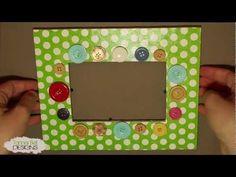 DIY Button Frame DIY Picture Frame DIY Home DIY Decor