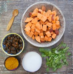 Sweet Potato, Lentil and Coconut Curry | Deliciously Ella