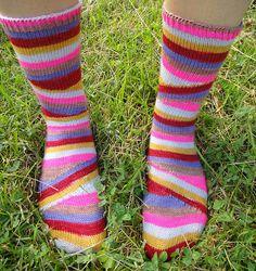Ravelry: CecileinIndiana's 187 - Mystik spiral socks
