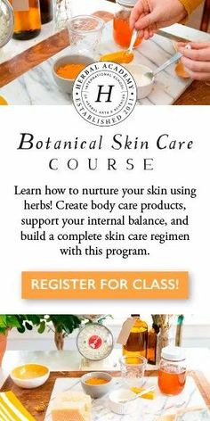 We welcome you to join us in a remarkably rewarding quest to create your own good-for-the-body, sumptuous skin care products at home. We've taken the dreaming out of making your own herbal products and made it a reality for you, while teaching you the how herbs can benefit the skin both inside and out! Enroll in the Botanical Skin Care Course with the Herbal Academy (affiliate link) Herbal Remedies, Natural Remedies, Health Remedies, Cough Remedies, Diy Rose, Liver Cleanse, Cleanse Detox, Soap Recipes, Body Care