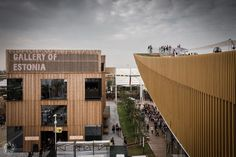 Expo Milano 2015: Gallery of Estonia (From the Pavilion of Russia)