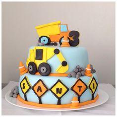 Torta camiones y maquinas