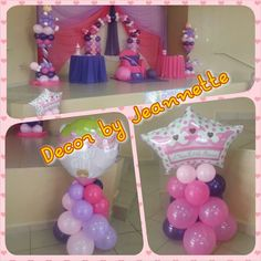 Baby Shower Girl balloon decoration