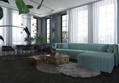 Couch, Curtains, Furniture, Home Decor, Settee, Blinds, Decoration Home, Room Decor, Sofas