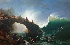 Albert+Bierstadt+-+Farallon+Islands.jpg (1600×1035)