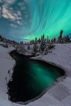 Yukon - last nights lights by Jonathan Tucker on 500pxY