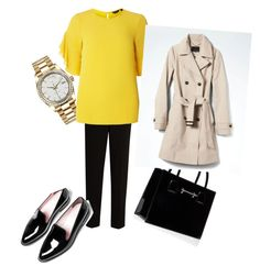 Designer Clothes, Shoes & Bags for Women The Row, Work Wear, Rolex, Banana Republic, Shoe Bag, Polyvore, How To Wear, Stuff To Buy, Shopping