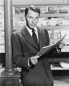 Frank Sinatra. Ol' Blue Eyes