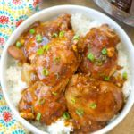 instant pot spicy teriyaki chicken thighs