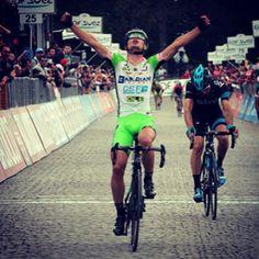 #emozione #senza #fine #enrico #battaglin #giro #cycling #giro2014 #corsarosa #oropa #pantani