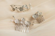 Hairpieces to make your style sparkle on your wedding day. Browse our collection here http://www.arabellebrusan.com/collections/bridal-tiaras