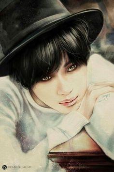 Taemin from SHINee kpop fan art