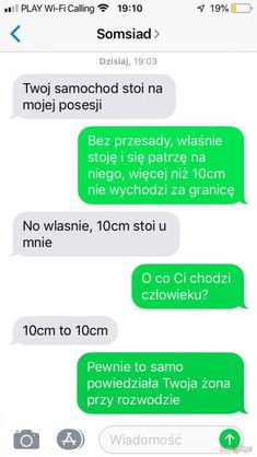 Funny Sms, Funny Text Messages, Wtf Funny, Funny Texts, Hilarious, Polish Memes, Dark Sense Of Humor, Best Memes Ever, Bts Memes