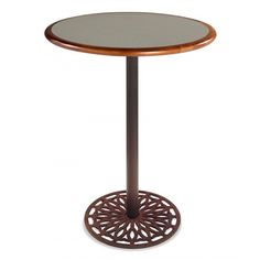 Round Pedestal Table Base Brushed Stainless Steel Height - Restaurant table base parts