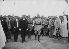 Rabat  Foire de Rabat : arrivée du général Lyautey    1917.09.16