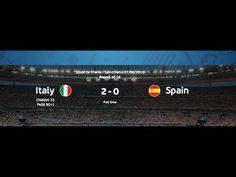Italy 2-0 Spain Match Highlights Recap Euro 2016 June 27 - YouTube