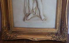 Cudowny obraz alabaster + złota rama