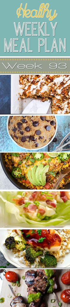 A delicious mix of healthy entrees, snacks and sides make up this Healthy Weekly Meal Plan for an easy week of nutritious meals your family will love! Healthy Weekly Meal Plan, Aldi Meal Plan, Keto Meal Plan, Diet Meal Plans, Meal Prep, Weekly Menu, Superfood Recipes, Healthy Eating Recipes, Nutritious Meals