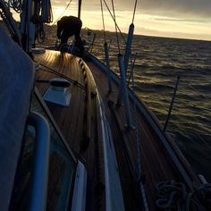 Stormy North Sea #sailing #hallbergrassy