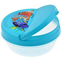 Disney Finding Dory Plastic Snack Containers with Flip-Top Lids