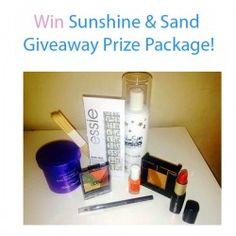 Win Sunshine and Sand Giveaway Prize Package ^_^ http://www.pintalabios.info/en/fashion-giveaways/view/en/3482 #International #Cosmetic #bbloggers #Giweaway