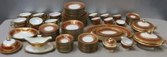 Hutshenreuther , Royal Bavarian Porcelain Service. : Lot 212