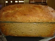 Gluten free, dairy free, whole grain bread