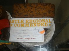 2015 Newcastle Show Highly Commended Boiled Fruit Cake