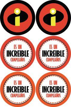 """Kit imprimible """"Los Increibles"""" — Crea tu mundo"""