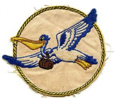 IDed! Rare WWII USN Air Sea Rescue Squadron 6 (VH-6) Jacket Patch in Disney Design