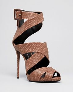 Giuseppe Zanotti Platform Ankle Strap Sandals - Coline High Heel | FOR LESS: https://www.saveya.com/buy/bloomingdales-gift-cards