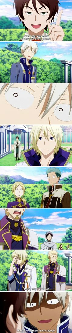 Akagami no Shirayukihime | I laughed so hard at their faces :L