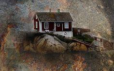 foto: Bjarne Hansen - Lille hus i modvind