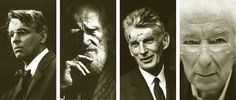 The highest literary award, The Nobel Prize for Literature has been awarded to four of Ireland's writers in the last century; William Butler Yeats, George Bernard Shaw, Samuel Beckett and most recently, Seamus Heaney. Thanks to http://flyingbookclub.ie/ for these fabulous images.
